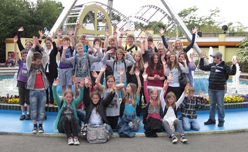 Gruppenbild Moviepark Bottrop